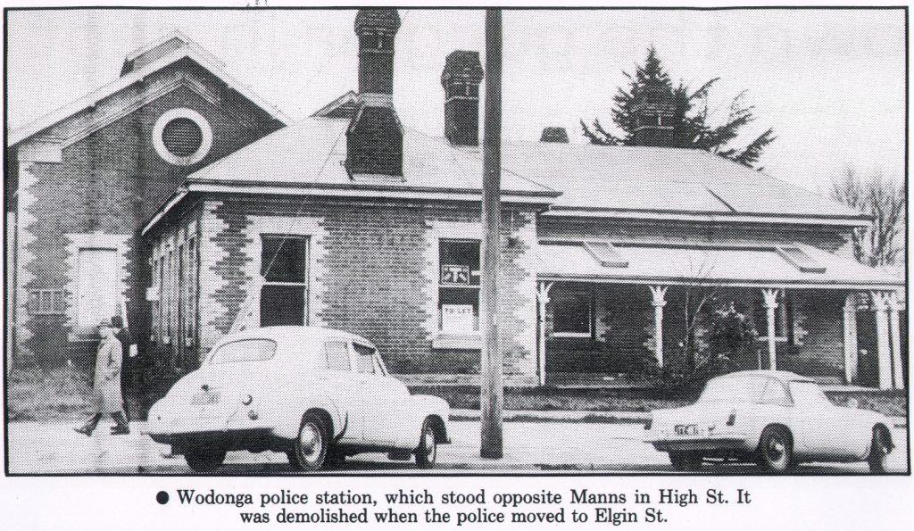 1960s Police station